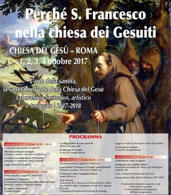 Perché S. Francesco nella Chiesa dei Gesuiti