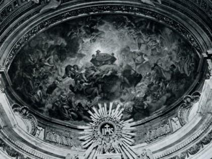 Abside: l'adorazione del mistico Agnello