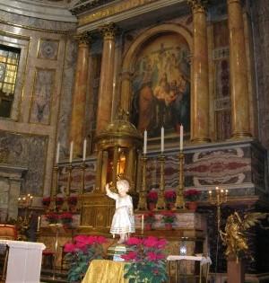 Altare Maggiore a Natale