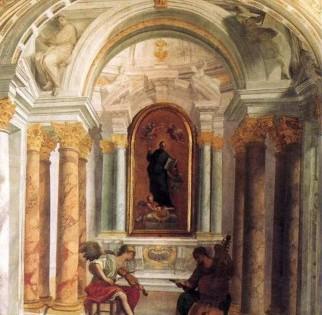 Corridoio delle stanze di sant'Ignazio