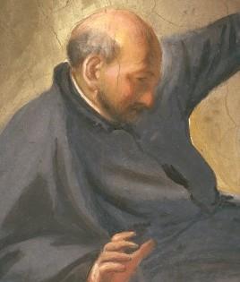 Corridoio di Andrea Pozzo: Beatitudine di sant'Ignazio