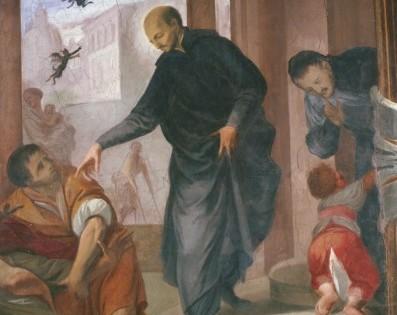 Corridoio di Andrea Pozzo: Sant'Ignazio guaritore