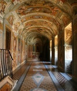 Corridoio di Andrea Pozzo: Corridoio delle stanze di sant'Ignazio