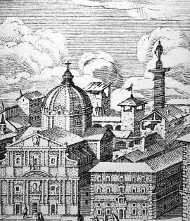Antica vista della Chiesa