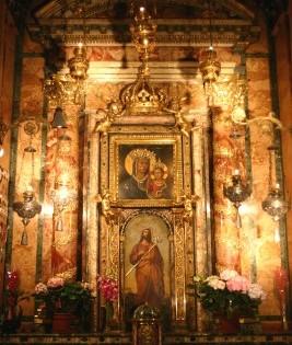 Cappella della Madonna della Strada (prima del restauro)