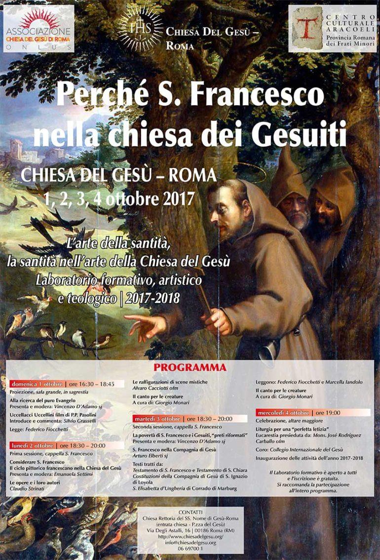 San Francesco nella Chiesa del Gesù