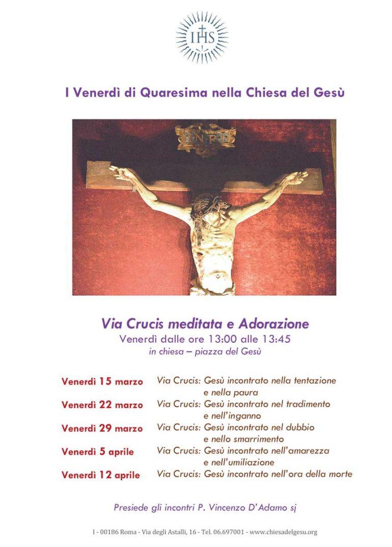 Quaresima 2019 - Chiesa del Gesù