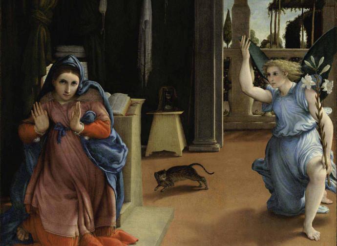 Lorenzo Lotto Annunciazione