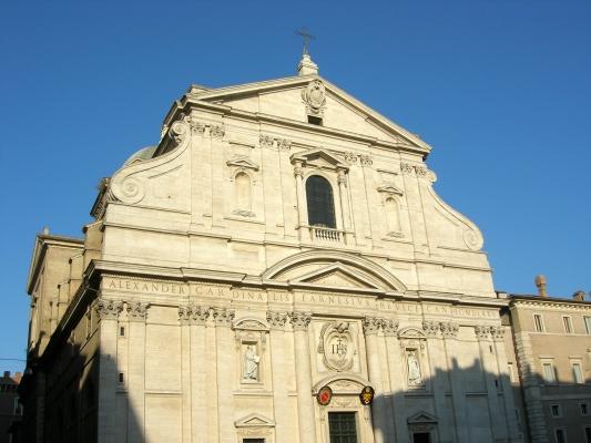 facciata chiesa del gesu roma