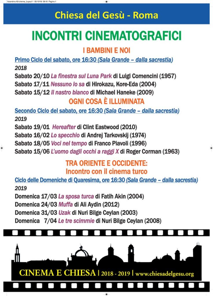 Rassegna Cinematografica 2019