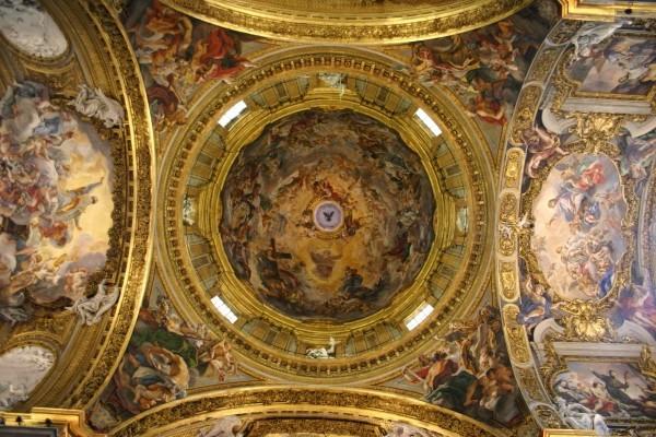 cupola chiesa del gesu
